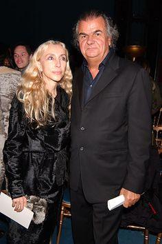 Vogue Italia's Franca Sozzani with Patrick Demarchelier at YSL F05