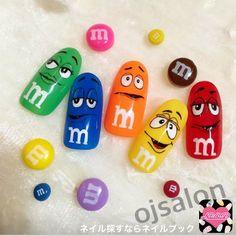 かわいいネイルを見つけたよ♪ #nailbook #nails #naildesign #celebrity #tokyo #art #mms #ojsalon #広尾 #恵比寿