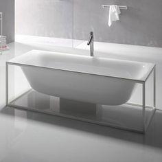 Bette Lux Shape Super Steel Bath 190 x 90cm  No Tap Hole - BE3453-000