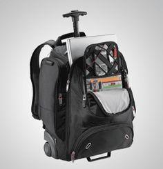 New Tsa Friendly Elleven Wheeled Laptop Macbook Pro Black Nylon Backpack Shona Ureña Z Book Carrier