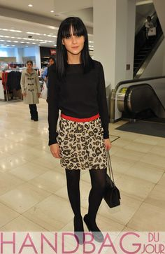 Leigh-Lezark-attends-Macy's-Celebration-Launch-of-Fourth-Designer-Collaboration-with-acclaimed-Designer-Giambattista-Valli-at-Macy's-Herald-Square-in-New-York-City-Chanel-flap-bag