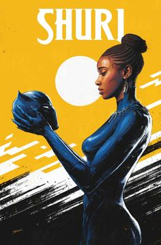 In SHURI Shuri decides not to take up the mantle of the Black Panther while her brother is still missing. What is the Wakanda nation to do? Black Panther Marvel, Shuri Black Panther, Black Panther Art, Marvel Comics, Marvel Heroes, Marvel Avengers, Marvel Comic Books, Vinyl Pants, Wakanda Marvel