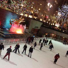 Rockefeller Center Skating ~ New York