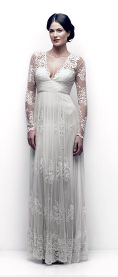 Bridal | Catherine Deane.  That's the trouble with Pinterest you wish you could do it all over again, I would have loved this dress.