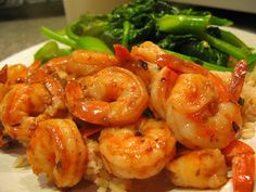Chef Royale: Crevettes sautés et légumes