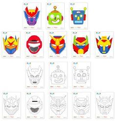 Creating a robot masks