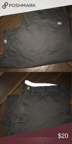 Volcom Modern Fit Shorts Black Volcom Modern Fit shorts. Great condition, color isn't faded at all. Size 36. Volcom Shorts