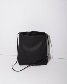 MINIMAL + CLASSIC: Rick Owens / Adri Large Leather Bag