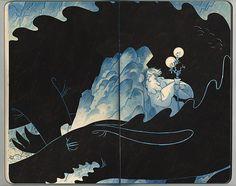Blackout Dragon on Illustration Served