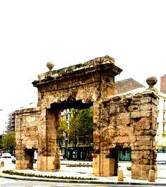 La Puerta del Carmen, vestigio de los Sitios de Zaragoza 1808-1809, Zaragoza España.foto Beatriz Benedicto.