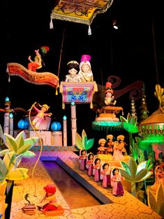 It's a Small World   Happiest ride in the world.
