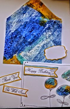 Too many hobbies!: More Cards and envelopes made with my deli papers