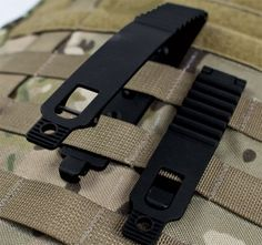 Blade-Tech - MOLLE-LOK Gen 2 -- Blade-Tech has redesigned their MOLLE-LOKs to make them easier to use. I use the original MOLLE-LOKs but the closure system is a bit of a pain at times – especially in tight MOLLE columns. Now, with the MOLLE-LOK Gen 2, Blade-Tech appears to have greatly improved the closure system.