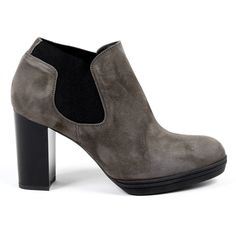 V 1969 Italia Womens Heeled Ankle Boot Taupe Gracy Secret Sale, Taupe Color, Versace, Suede Leather, Ankle Boots, Women Wear, Footwear, Booty, Heels