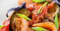 Recette de Ratatouille light aux herbes de Provence. Facile et rapide à réaliser, goûteuse et diététique. Ingrédients, préparation et recettes associées.