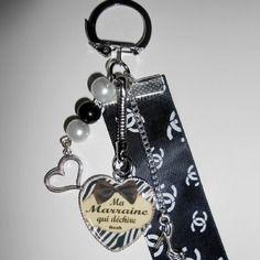 N/'oubliez pas que vous êtes Brave Round Pendentif Porte-clés Inspirational Keychain Hot