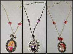 #maleficent  #necklace #homemade #collier #malefique #disney