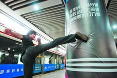 Adidas Helps Train Travelers Fight Commuter Rage With Platform Punching Bags [Video]