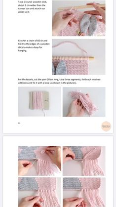 Hand Embroidery Patterns Free, Crochet Bear Patterns, Amigurumi Patterns, Crochet Wall Hangings, Tapestry Crochet, Crochet Crafts, Crochet Toys, Patron Crochet, Crochet Garland