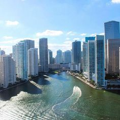 Miami is always a good idea!  by @mrglobalgq via @southbeachhelicopters #WednesdayWisdom
