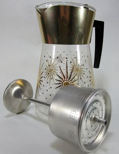 Vintage Douglas Coffee Pot Flame Proof 8 Cup With by TurnerVintage, $20.00