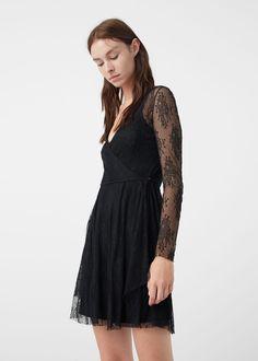 Lace dress - Dresses for Woman | MANGO USA $119