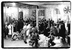 Andy warhol's factory | party at Andy Warhol's Silver Factory