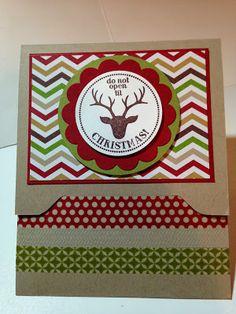 Gift Card Holders ~ Envelope Punch Board