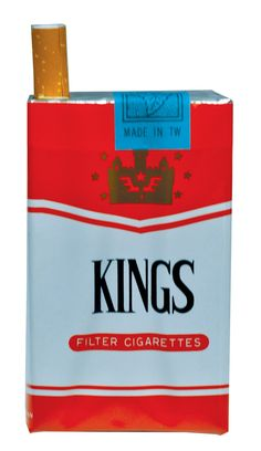 Realistic pack of cigarettes- snaps the finger of anyone who removes one.