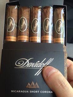 Davidoff, Cigar, Nicaragua, Short Corona,  One of My Favorite Cigar