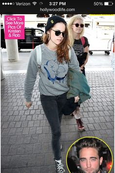 Kristen fresh from paris