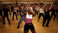 Zooooombaaaahhh. Aka Zumba aka the most fun you will have exercising.