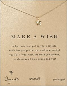 dogeared rising star necklace