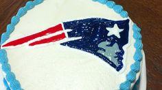 NE Patriots Cake