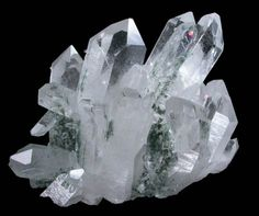 Quartz with Chlorite from Ardamore, Dingle, County Kerry, Ireland