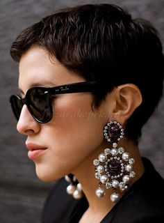 Best Short Pixie Hairstyles for Women 2013 - New Hairstyles, Haircuts & Hair Color Ideas Short Pixie Haircuts, Pixie Hairstyles, Short Hair Cuts, Short Hair Styles, Hairstyles 2016, Summer Hairstyles, Short Bangs, Medium Hairstyles, Trendy Hairstyles