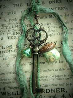 composeddaydreams:    I wish I lived in the place that has the door that this key would unlock.