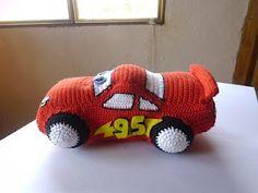 Awesome car from Es un mundo amigurumi