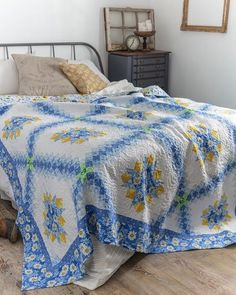 Sweet Daisy Mae Quilt Pattern