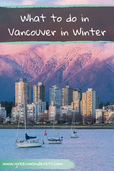 Vancouver in Winter has so many fun activities! From skiing to snowshoeing, hiking and visiting museume, you will not get bored in this amazing city! Quebec, Denmark Street, Toronto, Visiting Niagara Falls, Travel Guides, Travel Tips, Travel Advice, Budget Travel, British Columbia