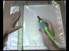 Here's a quick tip on how to organize your Scrap Rack Pages or page protectors Using a Walnut Hollow Creative Hot Marks Tool.