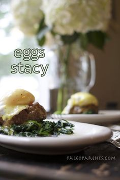 Eggs Stacy by PaleoParents  #21dsd #breakfast #eggs