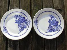 Antique ensemble de 2 assiettes Badonviller par MyNiftyBrocante, €78.00