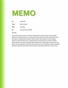 1000 images about memo template free on pinterest for Template for writing a memo