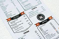 Beautiful menu designs   Menu Inspiration