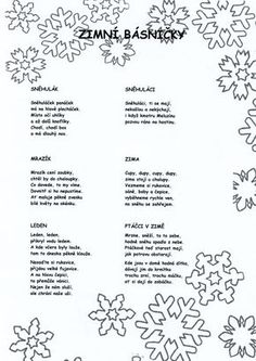 podzim básničky - Hledat Googlem Aa School, School Clubs, Music Education, Kids Education, Christmas Printables, Christmas Cards, Kids Songs, Holidays And Events, Kindergarten