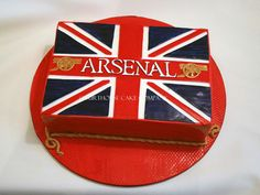 Arsenal grooms cake courthouse cake company Arsenal Football, Shoulder Bag, Grooms, Food Porn, Party Ideas, Cakes, Heart, Kids, Wedding