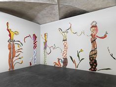 Betty Woodman, installation views at Museo Marino Marini, 2015