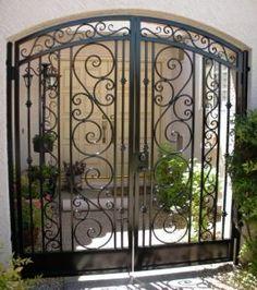 iron design courtyard - Google Search