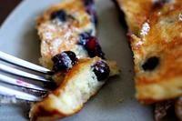 Recipe: Blueberry Sour Cream Pancakes